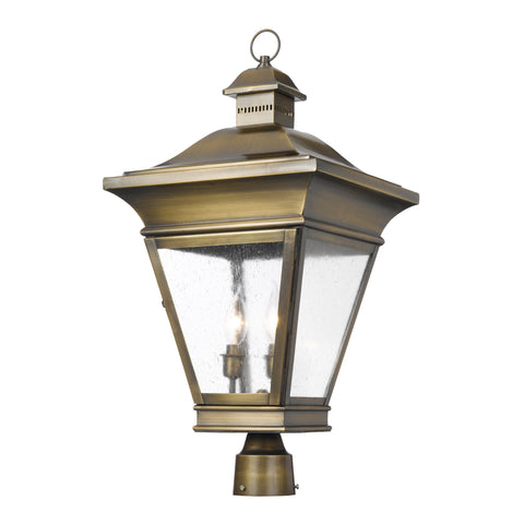 Artistic 5239-ORB Outdoor Post Lantern Reynolds