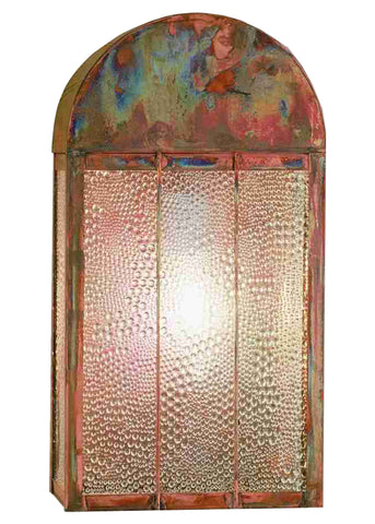 "8""W Copper Bars Wall Sconce"