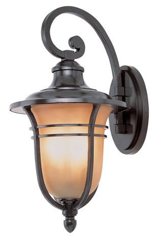 "5701 ROB Amber Rain 17"" high Wall Light"