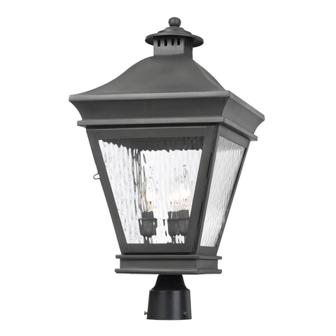 Artistic 5723-C Outdoor Post Lantern Landings