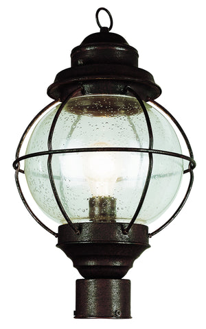 "69905 RBZ Onion Lantern Post Top 19"" Bronze"