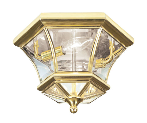 Monterey/Georgetown Ceiling Light Polished Brass