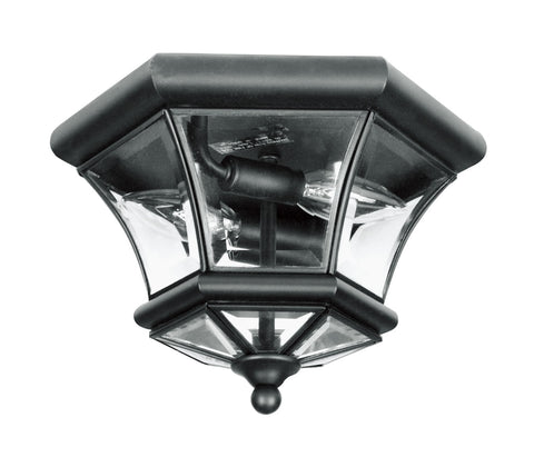 Monterey/Georgetown Ceiling Light Black