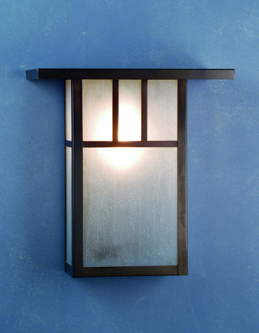 "15""W Hyde Park Double Bar Mission Wall Sconce"