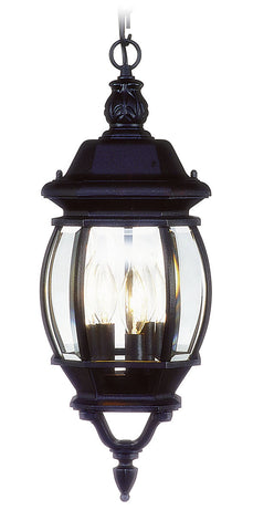 Frontenac Outdoor Pendant Black