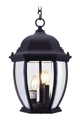 Kingston Outdoor Pendant Black