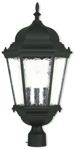 Livex Lighting 75474-14 Hamilton Outdoor Post-Top Lantern