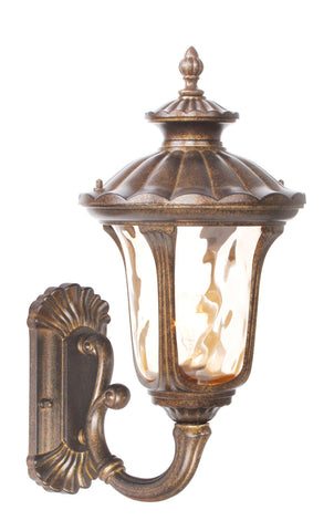 Oxford Wall Light Moroccan Gold