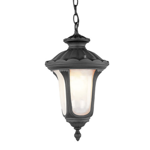 Oxford Outdoor Pendant Black