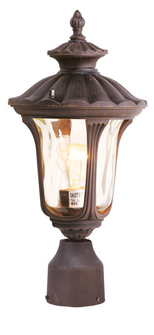 Oxford Post Mount Imperial Bronze