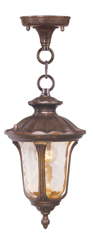 Oxford Outdoor Pendant Moroccan Gold