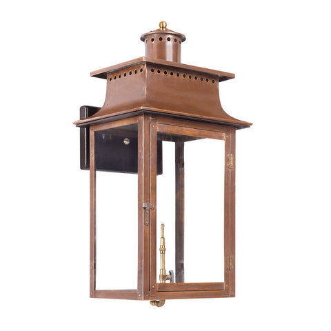 Artistic 7905-WP Outdoor Gas Wall Lantern Maryville