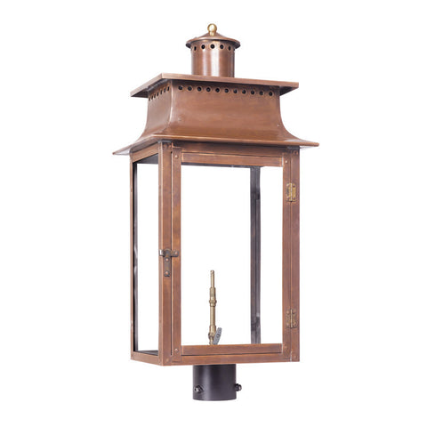 7906-WP Outdoor Gas Post Lantern Maryville Collection