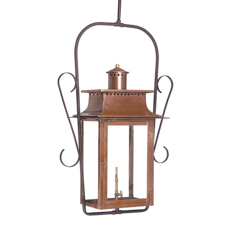 7908-WP Outdoor Gas Ceiling Lantern Maryville Collection