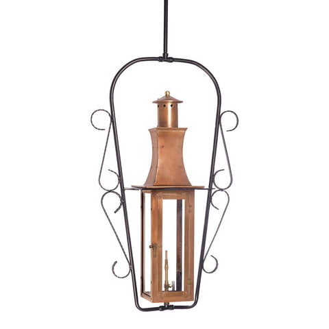 7912-WP Outdoor Gas Ceiling Lantern Maryville Collection