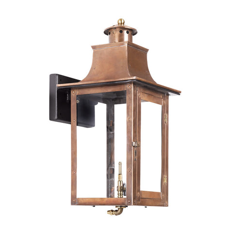 Artistic 7913-WP Outdoor Gas Wall Lantern Maryville