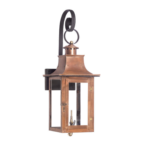 7915-WP Outdoor Gas Shepherd'S Scroll Wall Lantern Maryville