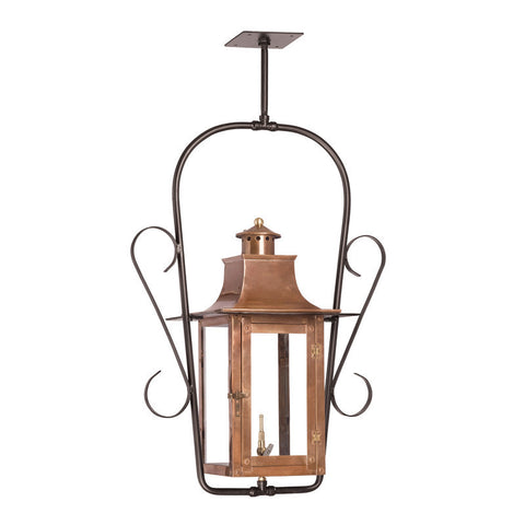 7916-WP Outdoor Gas Ceiling Lantern Maryville Collection