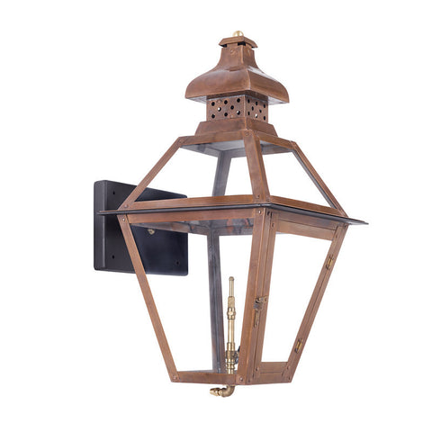 Artistic 7917-WP Outdoor Gas Wall Lantern Bayou