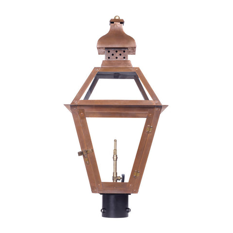 Artistic 7918-WP Outdoor Gas Post Lantern Bayou