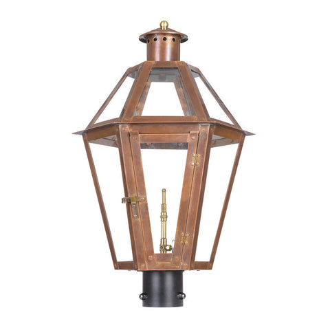 7922-WP Outdoor Gas Post Lantern Grande Isle Collection