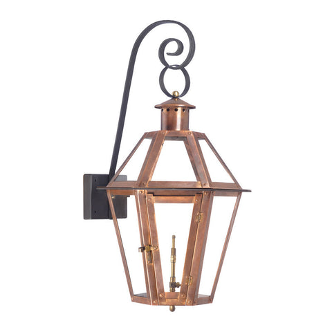 7923-WP Outdoor Gas Wall Lantern Grande Isle Collection