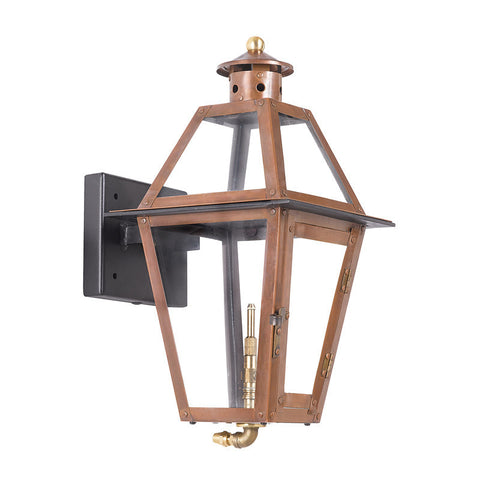 Artistic 7925-WP Outdoor Gas Wall Lantern Grande Isle