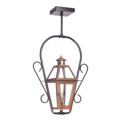 7928-WP Outdoor Gas Ceiling Lantern Grande Isle Collection