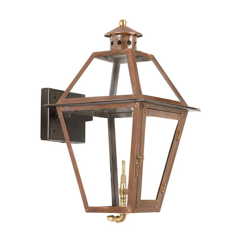 Artistic 7929-WP Outdoor Gas Wall Lantern Grande Isle