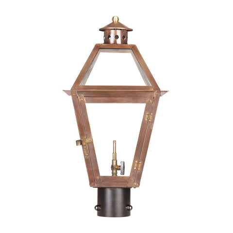 7930-WP Outdoor Gas Post Lantern Grande Isle Collection