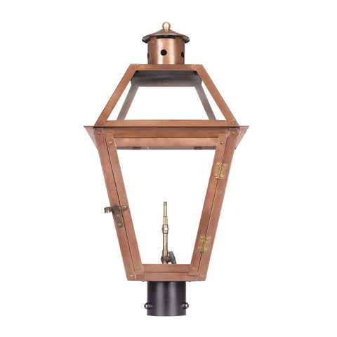 7934-WP Outdoor Gas Post Lantern Grande Isle Collection