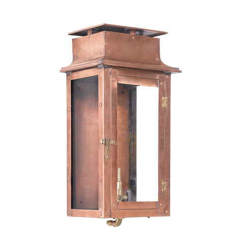 Artistic 7941-WP Outdoor Gas Wall Lantern Maryville