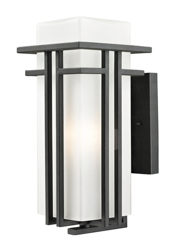 549M-BK Abbey Outdoor Wall Light