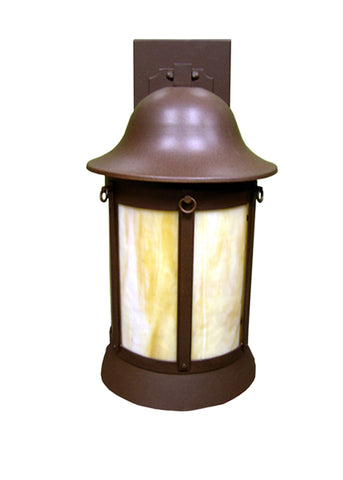 "9.5""W Bowler Outdoor Wall Sconce"
