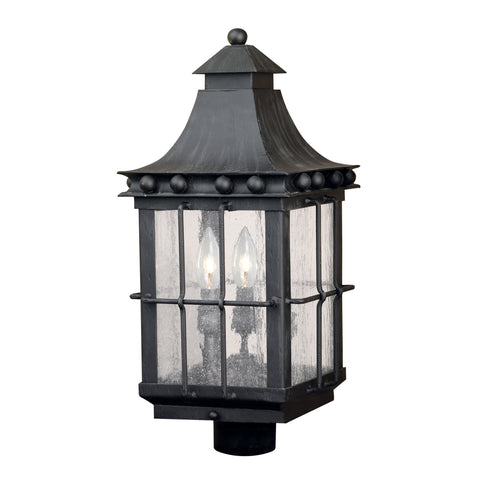 Artistic 8453-E Outdoor Post Lantern Taos