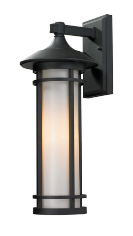 529M-BK Woodland Outdoor Wall Light