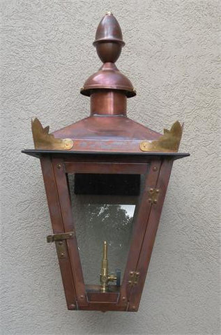 "Augustus II Model Gaslight GL22LT w/ Wall Mount 23"" x 10 1/2"""