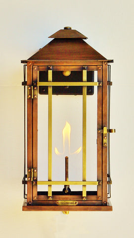 The CopperSmith BL18 Bad Lands Gas or Electric Lantern