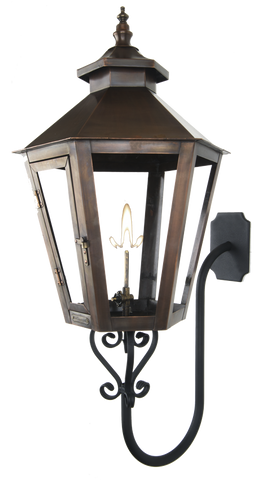 The CopperSmith GN Gooseneck Wall Mount Bracket for Gas Lights  sc 1 st  Outdoor Lighting Supply : coppersmith lighting - azcodes.com