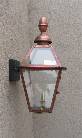 "Beaumont III Model Gaslight GL22CT w/ Wall Mount 31"" x 12"""