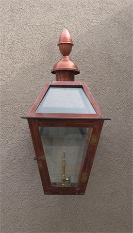 "Beaumont II Model Gaslight GL18CT w/ Wall Mount 19"" x 10 1/2"""