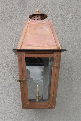 "Belle Chase Model Gaslight GL24 w/ Wall Mount 23"" x 10 1/5"""