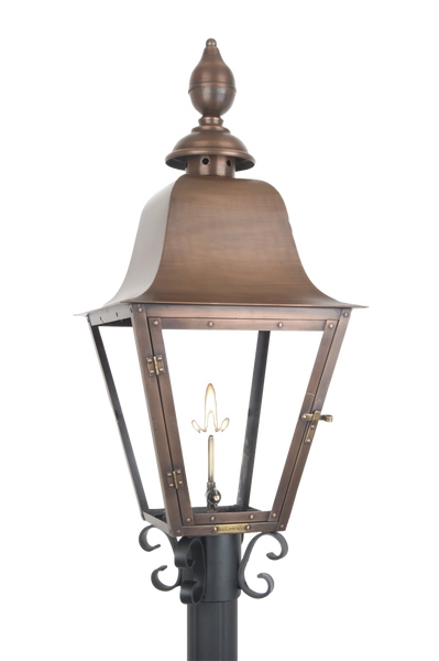 The Coppersmith Pfc Post Fitter C Scroll For Gas Lights