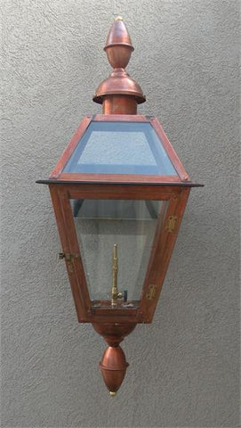 "Chalmette III Model Gaslight GL22CTCB w/ Wall Mount 39"" x 13 1/2"""