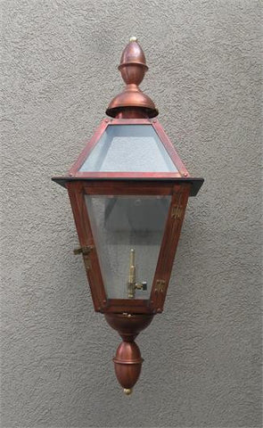 "Chalmette II Model Gaslight GL18CTCB w/ Wall Mount 29"" x 10 1/2"""