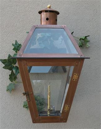 "Chalmette Model Gaslight GL22 w/ Wall Mount 24"" x 14"""