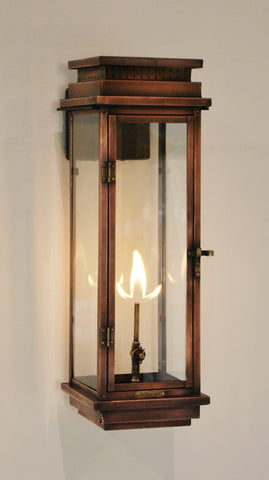 The CopperSmith CO18 Comtempo Gas or Electric Lantern