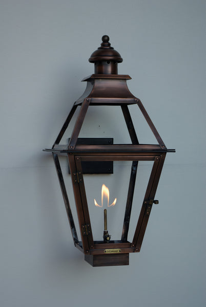 The Coppersmith Cr22 Creole Gas Or Electric Lantern