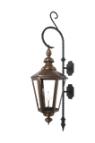 The CopperSmith SWAN Wall Mount Bracket for Gas Lights