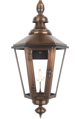 The CopperSmith ES61 Eslava Street Gas or Electric Lantern